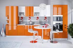 Модель кухни Твист глянец